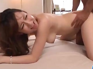 Astonishing Chinese honey, Reon Otowa got down and muddy with her married neighbor next door